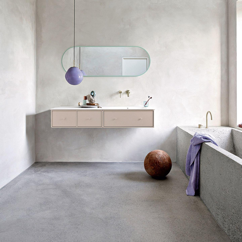 """Badmöbelserie """"Montana Bathroom"""", erhältlich in vierzig Farbnuancen"""