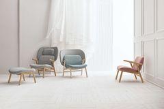 """Sessel """"Cosh"""" in drei verschiedenen Höhen und Farben"""