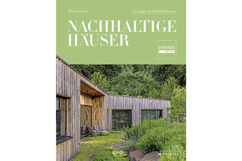 """Cover Buch """"Nachhaltige Häuser"""" von Bettina Hintze"""