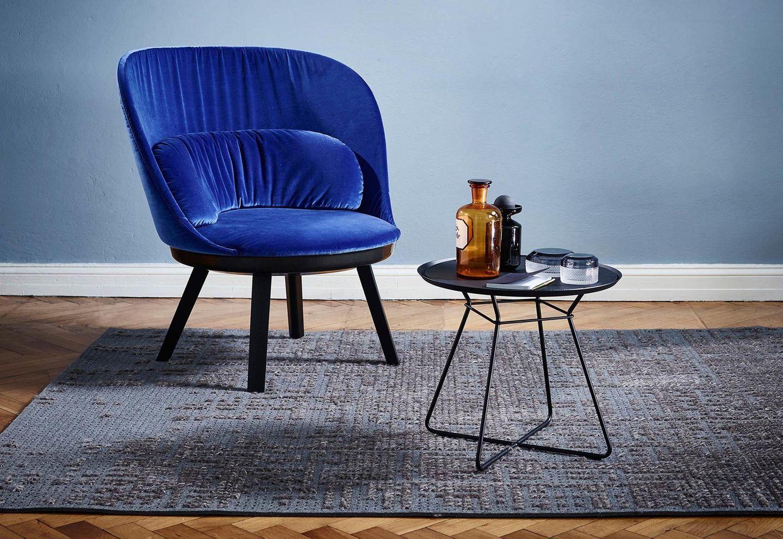"Sessel ""Romy"" in Blau von Freifrau"