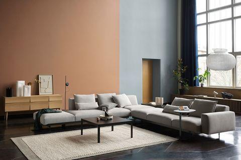 """Sofa """"In Situ"""" von Muuto als Eckkombination"""