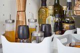 """Ordnung in der Küche mit Box """"Variera"""" von Ikea"""