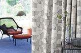 Vorhang Silhouette mit schwarzer Grafik von Zimmer+Rohde