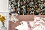 Vorhang mit floralem Muster