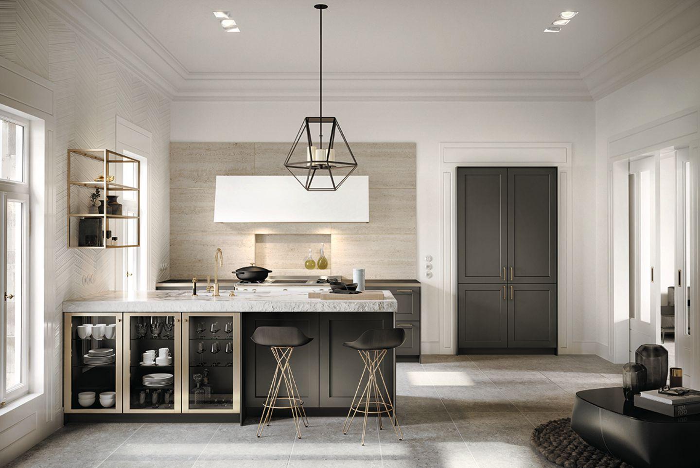 """Küche """"Classic"""" von Siematic ohne Oberschränke"""