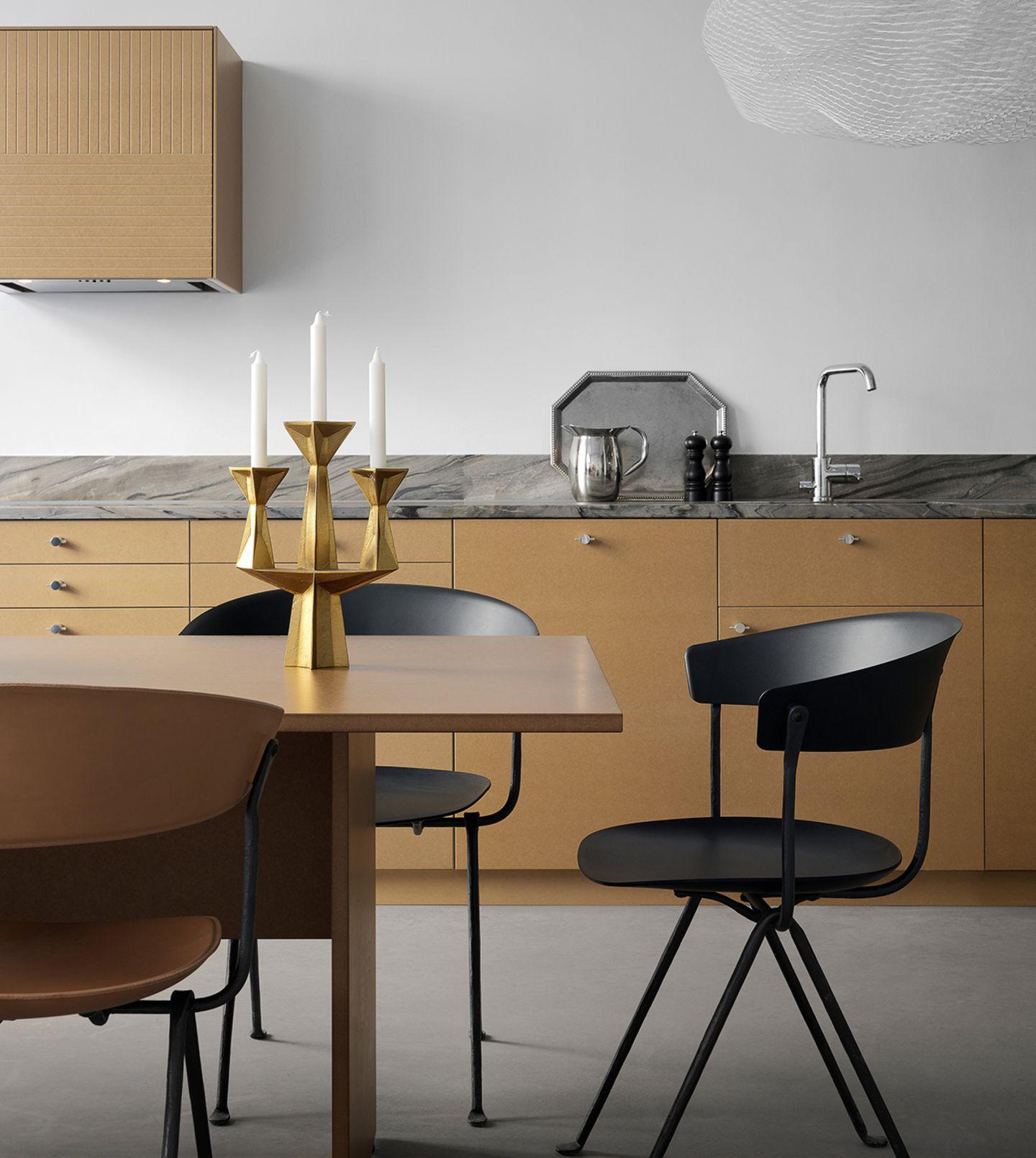 Küche mit Fronten von Superfront
