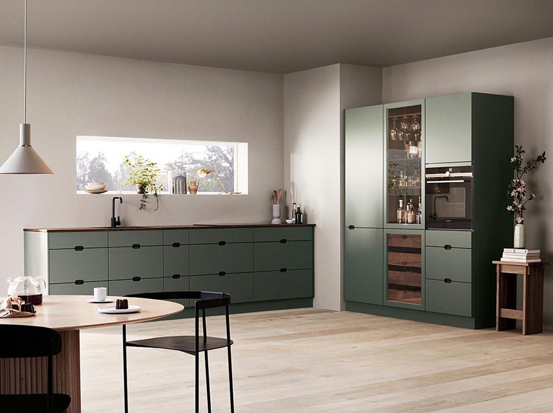 Küche in Salbeigrün von Kvik