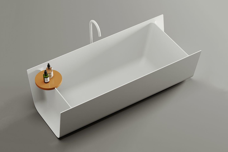 Freistehende Badewanne Fold von Falper