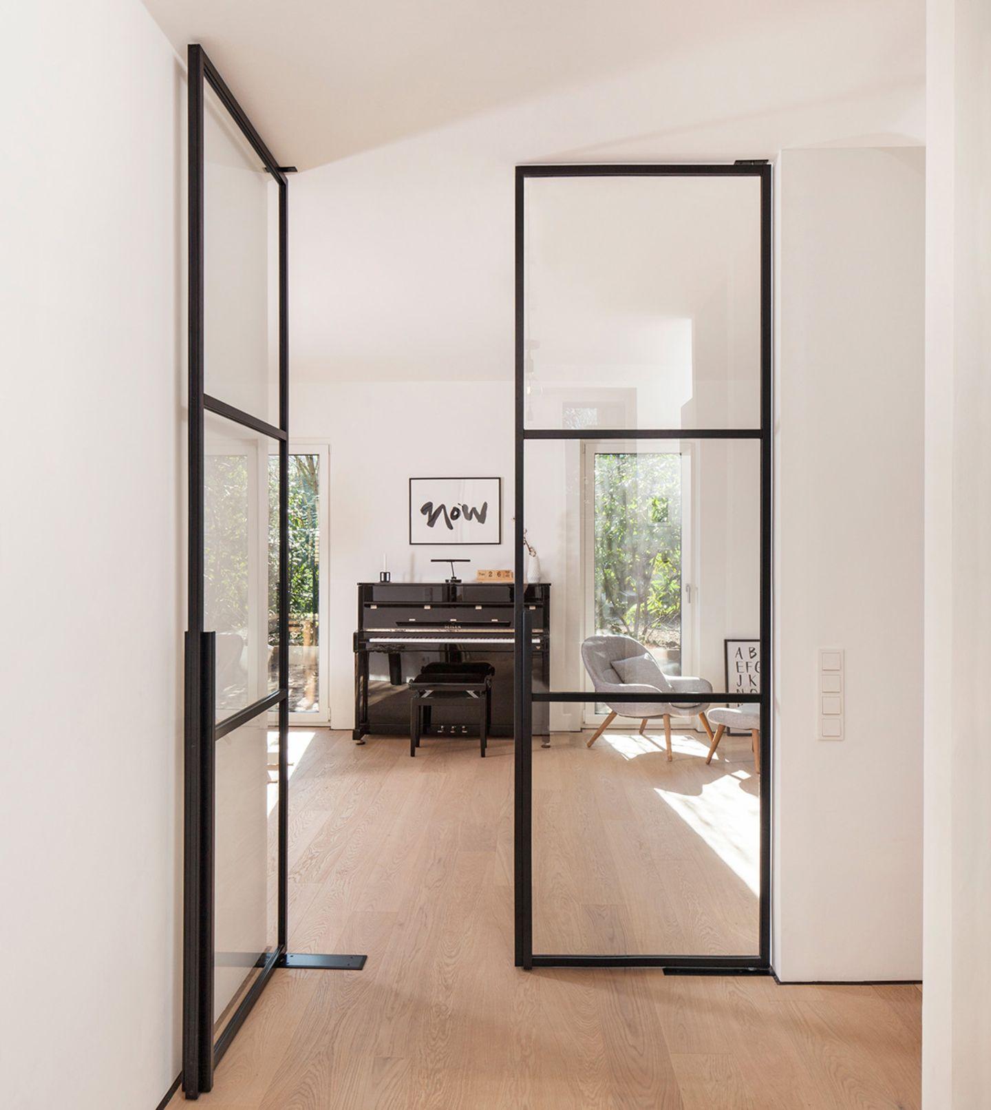 Lofttür aus Glas und Stahl von Stolwarker