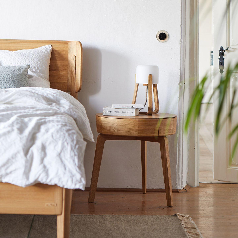 """Bett """"Alwy"""" von Grüne Erde aus nachhaltiger, ökologischer Fertigung"""
