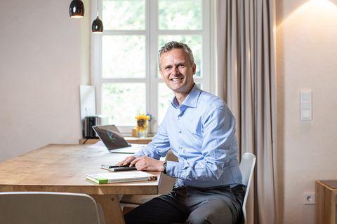 Peter Bachmann, Geschäftsführer des Sentinel Haus Instituts