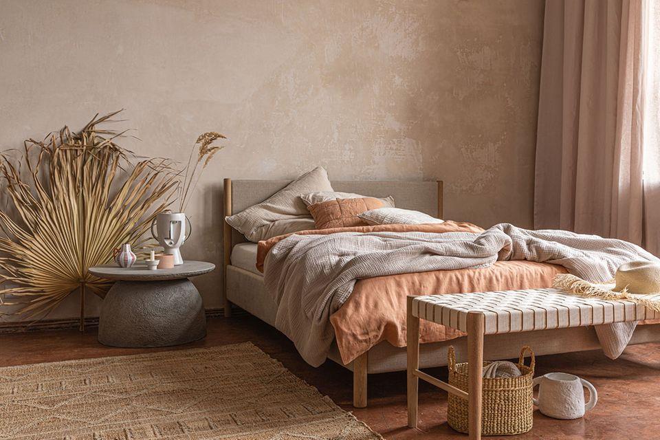 Schlafzimmer-Textilien von Urbanara