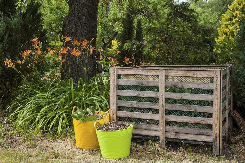 Kompost im eigenen Garten
