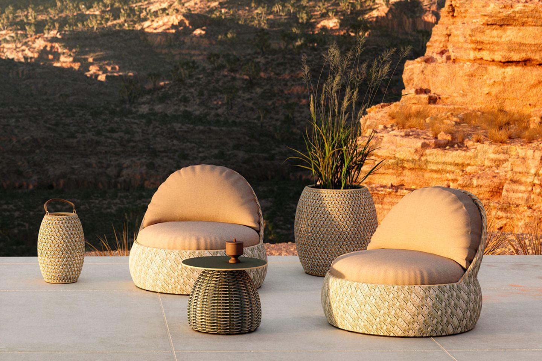 """Outdoor-Loungemöbel """"Dala"""" von Dedon"""