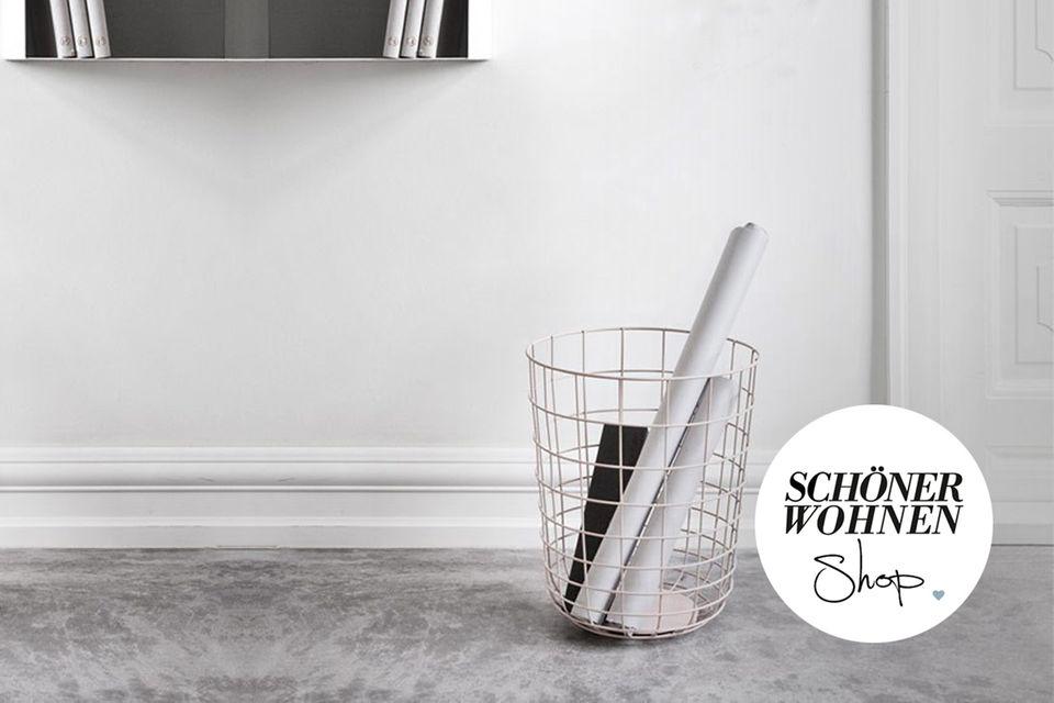 SCHÖNER WOHNEN-Shop: Aufbewahrung in kleinen Räumen