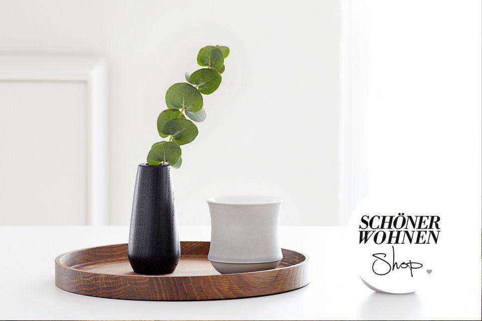 """Tablett """"Luna"""" von Applicata – erhältlich im SCHÖNER WOHNEN-Shop"""