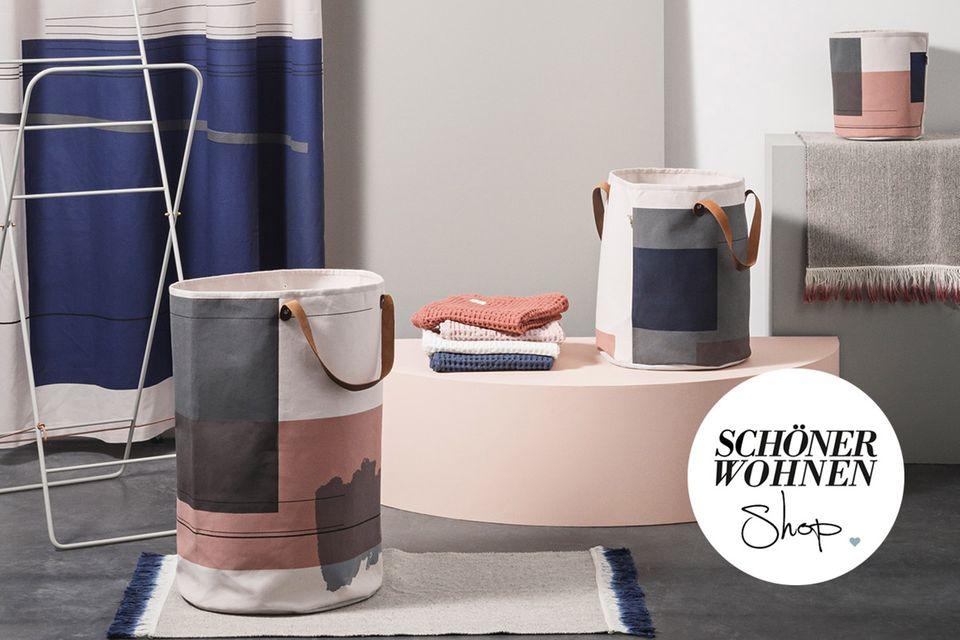 Wäschekörbe und Handtuchhalter von Ferm Living