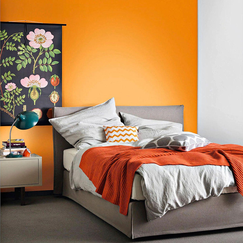 """Trendfarbe """"Mango"""" von SCHÖNER WOHNEN-Farbe"""