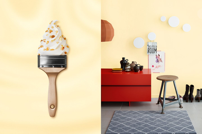 """SCHÖNER WOHNEN-Trendfarbe """"Cream"""""""
