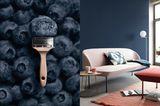 """SCHÖNER WOHNEN-Trendfarbe """"Blueberry"""""""