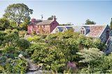 Dyffryn Fernant Garden in der walisischen Wildnis