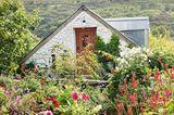 Dyffryn Fernant Garden im Norden der Grafschaft Pembrokeshire an der walisischen Küste