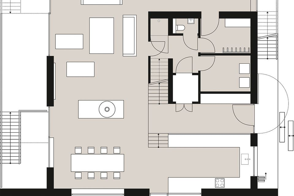 Grundrisse HÄUSER 6/2016 - Das besondere Haus