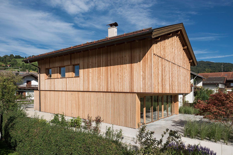 Haus Schliersee: Holzfassade