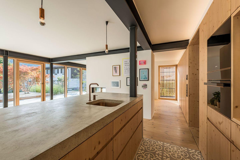 Haus Schliersee: Küche