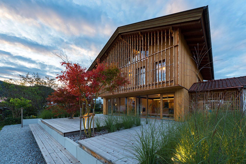Haus Schliersee: Terrasse