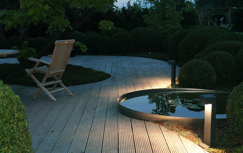 Bild: Gartenbeleuchtung