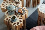 Upcycling: Tisch aus Recyclingmaterial