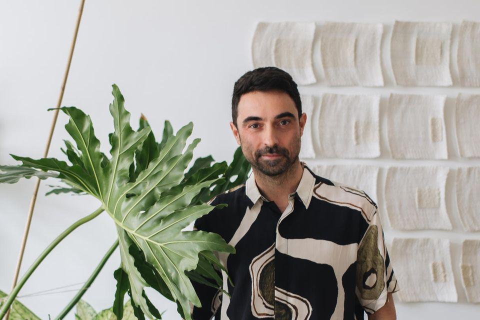 Pflanzenexperte und Mitbegründer der Urban Jungle Bloggers Igor Josifovic-Kemper