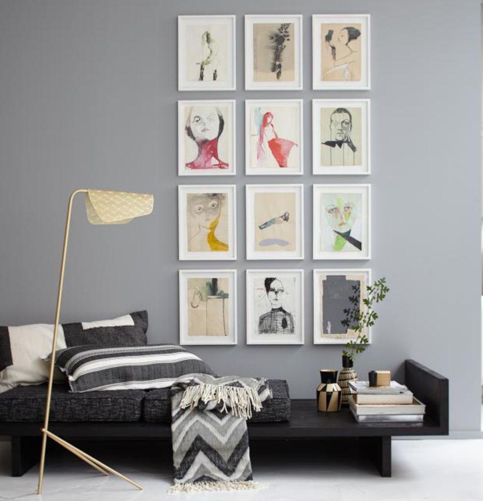 Wände mit Bildern dekorieren: Die perfekte Ordnung