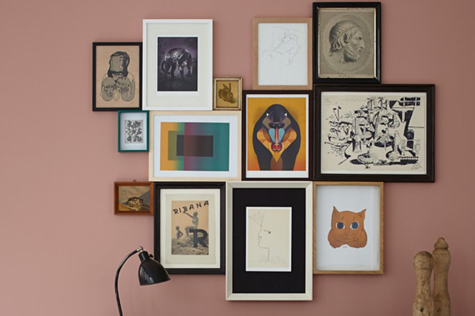 Kunstwerke aus verschiedenen Epochen zusammen zeigen