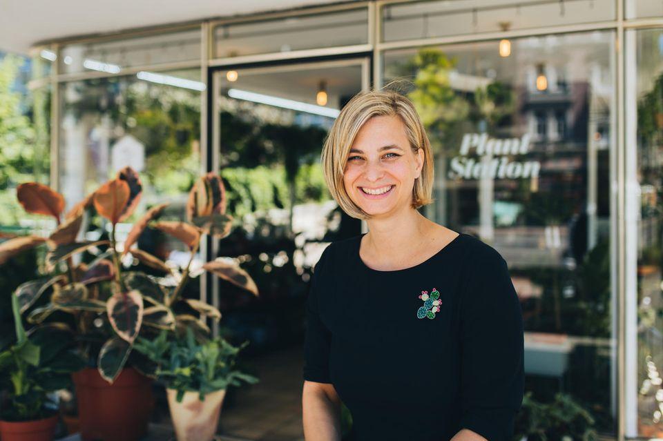 Zelda Czok, Gründerin des Hamburger Concept Stores Winkel van Sinkel