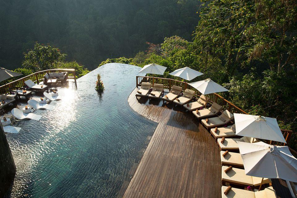 """Pool des """"Hanging Gardens of Bali"""""""
