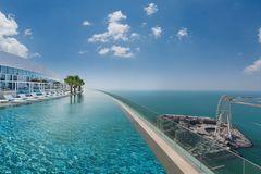 Infinity-Pool des Address Beach Resorts
