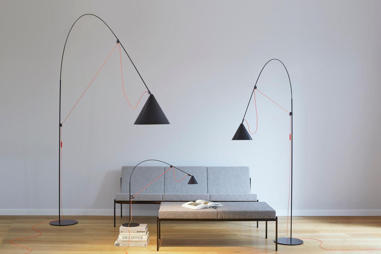 Ayno Leuchte im Wohnzimmer