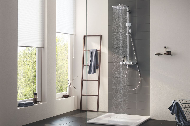 Badezimmer mit Rainshower-Dusche