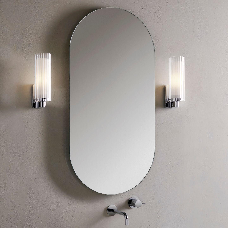 """Wandleuchte """"Ottavino Wall"""" von Astro Lighting im Badezimmer"""