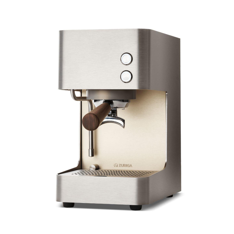 Espressomaschine Edelstahl