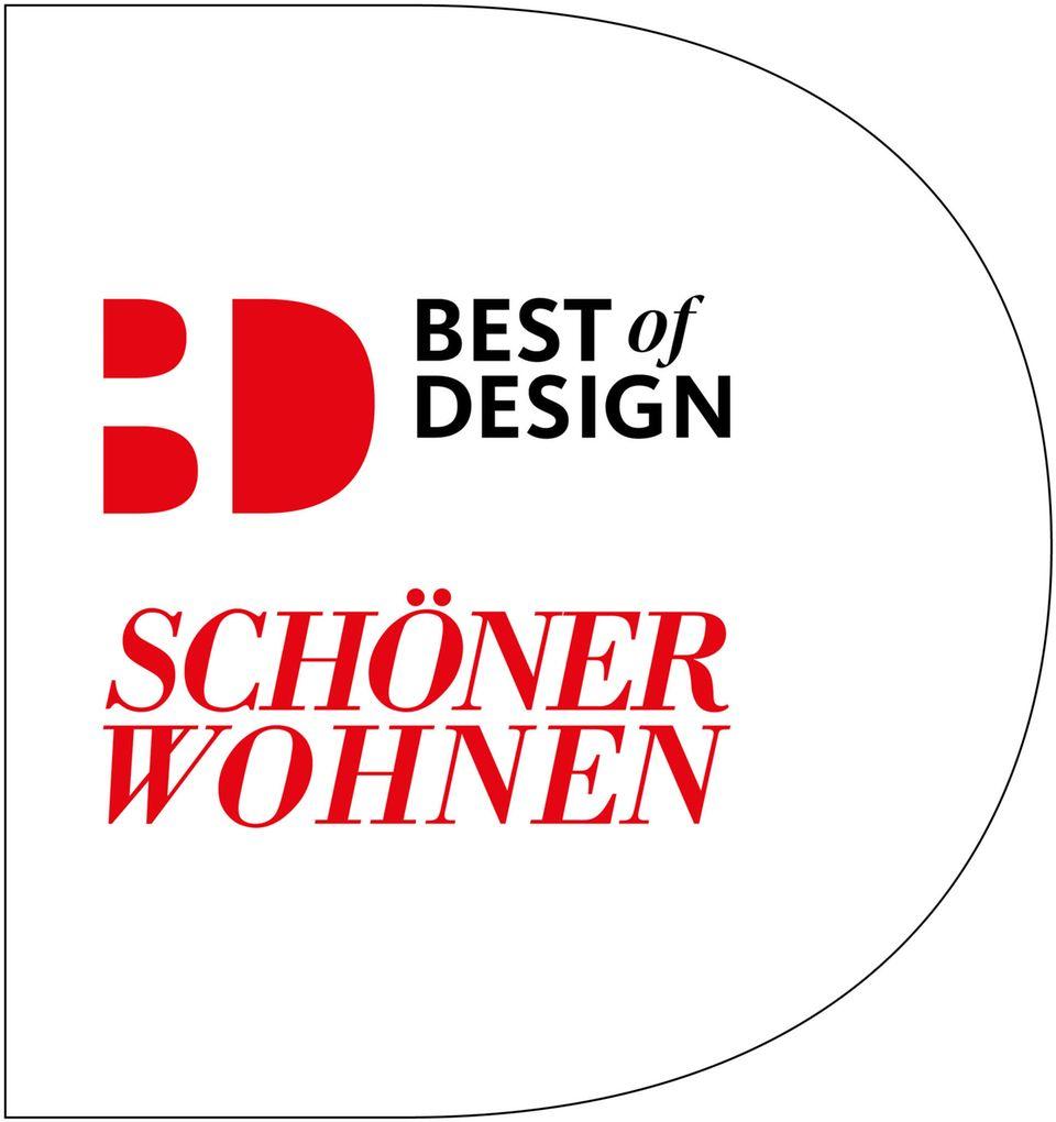 Das neue SCHÖNER WOHNEN-Siegel BEST OF DESIGN.