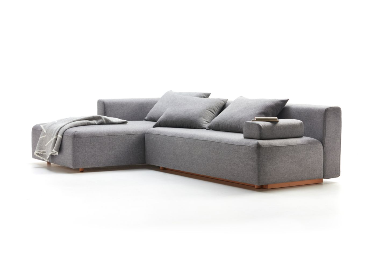 Graues Sofa von Grüne Erde