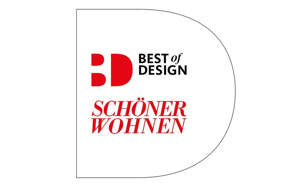 SCHÖNER WOHNEN-Siegel : BEST OF DESIGN