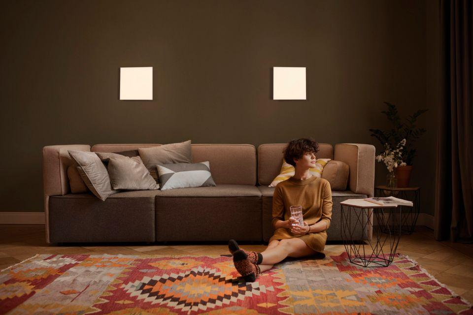 Lichtpaneele mit LED-Licht in Tageslichtqualität