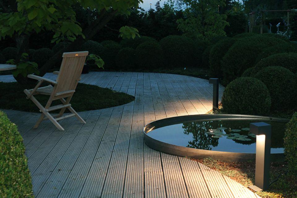 Individuell, bequem und sicher: Smarte Lichtsteuerung im Garten