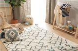 Flauschiger Wollteppich im Kinderzimmer