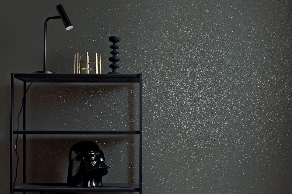 """Shiny Grey"" lässt den Raum besonders funkeln."